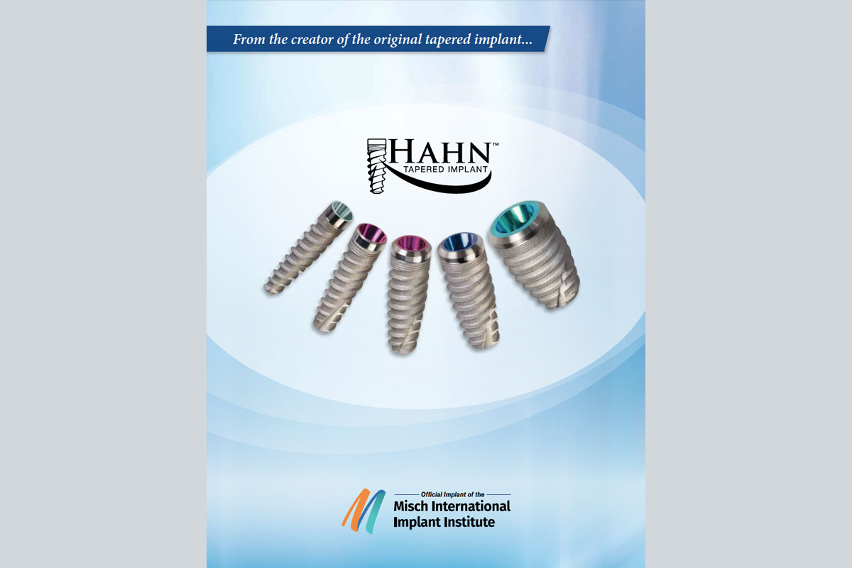 Hahn Tapered Implant System - Downloads Library - Product
